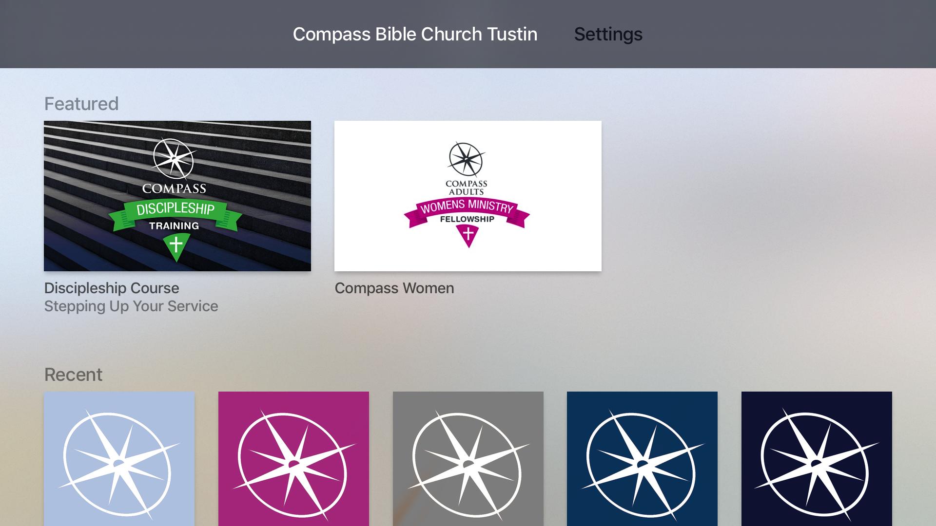 Compass Bible Church Tustin screenshot 7