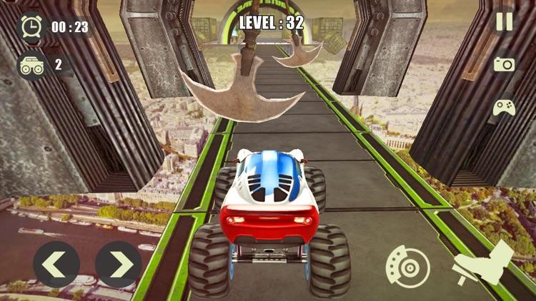 3D Monster Truck Derby Stunt screenshot-6