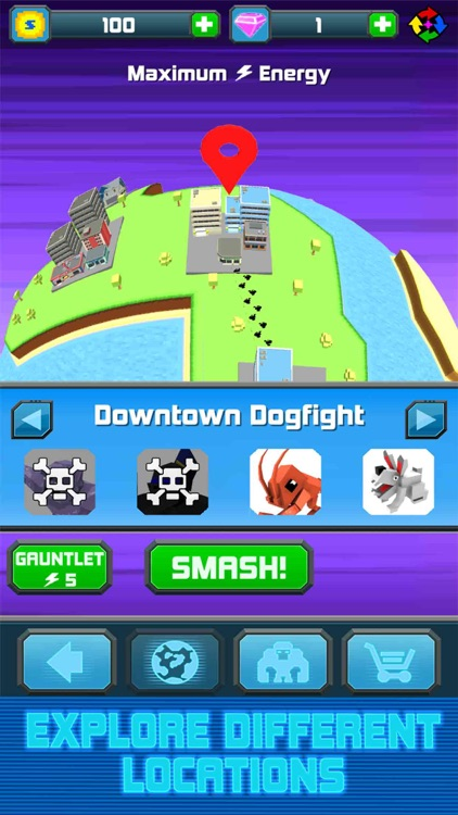 Smashy City: Monster Battles screenshot-3
