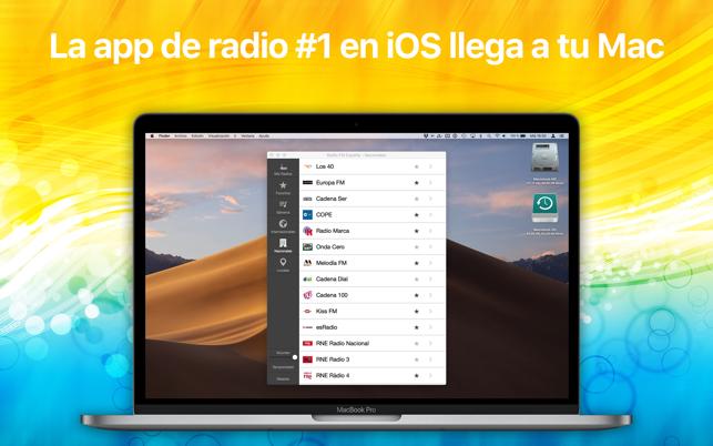 programa para escuchar radio online mac