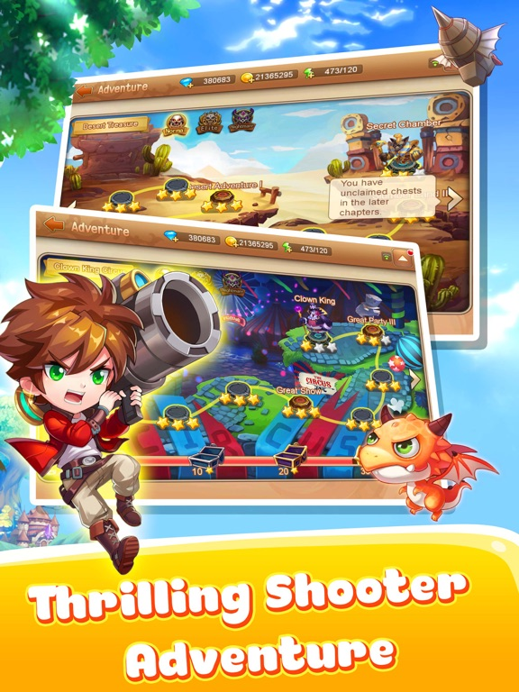 Shooter Tribe для iPad