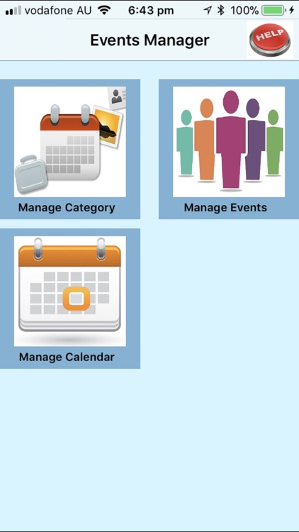 Events Manager