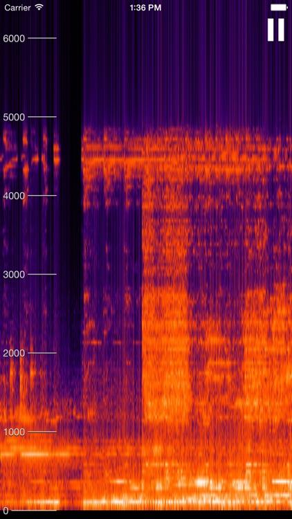 Live Spectrogram