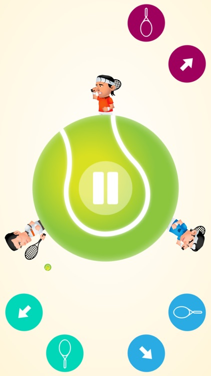 Circular Tennis: Multiplayer screenshot-3