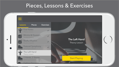 Notecoach Piano Lessons screenshot two