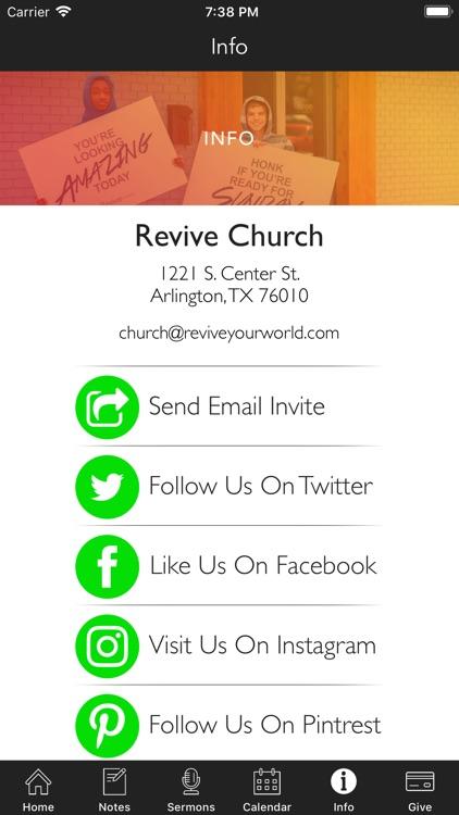 Revive Church | Arlington screenshot-3
