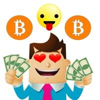 Bitcoin Moji-Crypto Stickers
