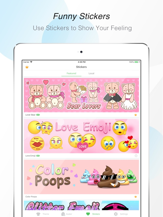 GO Keyboard EmojisCool Themes On The App Store