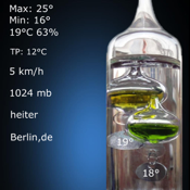 Galileo Thermometer app review