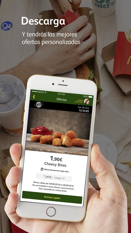 McDonald's España - Ofertas screenshot-2