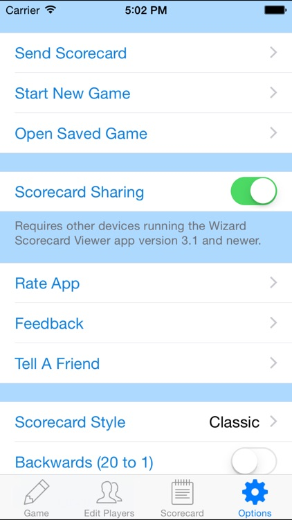 Wizard Scorecard screenshot-4