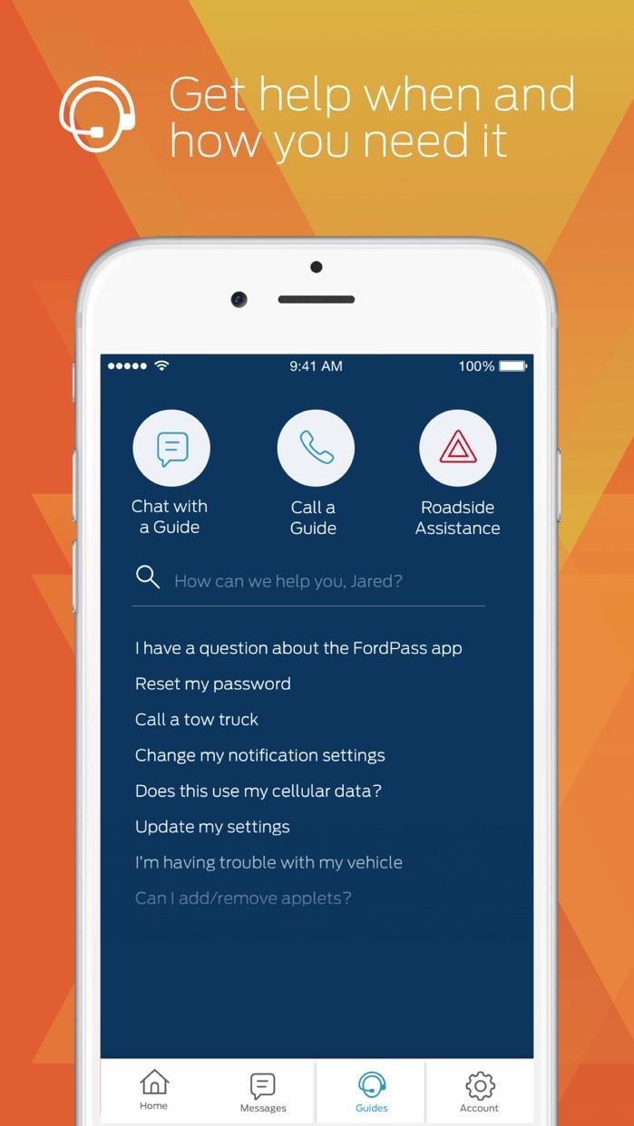 FordPass - Fuel, Park, Dealers Screenshot