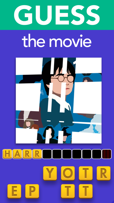 Guess the Movie: Icon Pop Quiz Screenshot on iOS
