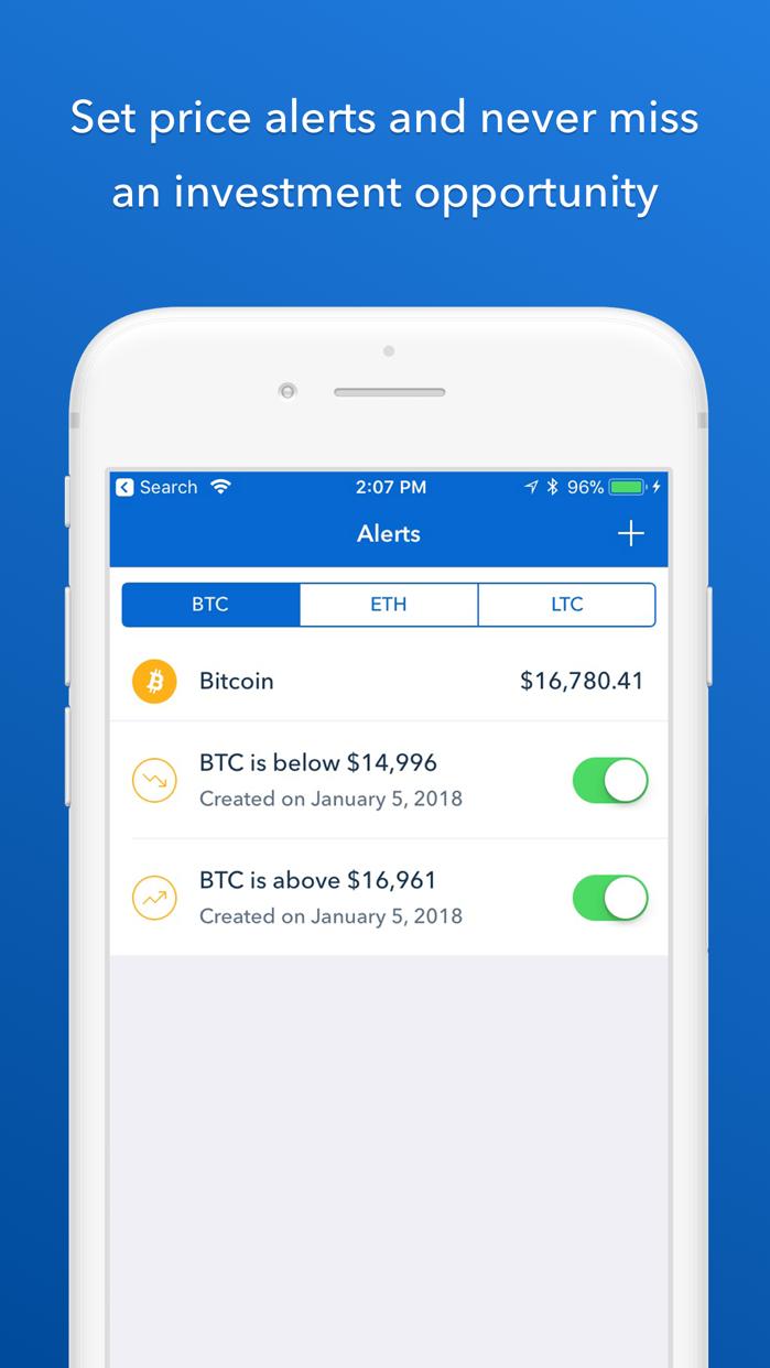 Coinbase - Buy Bitcoin & more Screenshot