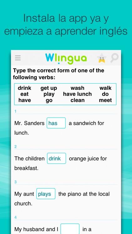Aprende Inglés con Wlingua screenshot-3