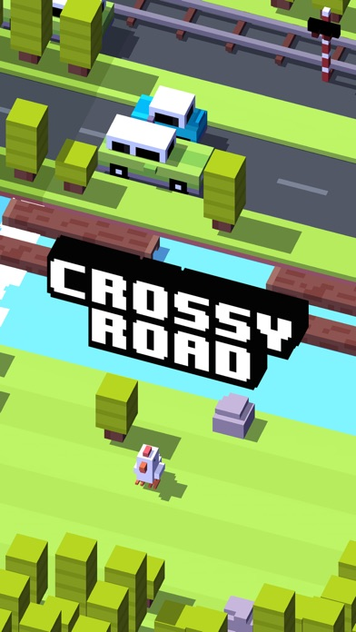 Screenshot for Crossy Road in Czech Republic App Store