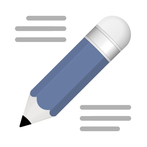 Notes Writer - Legacy Version iOS App