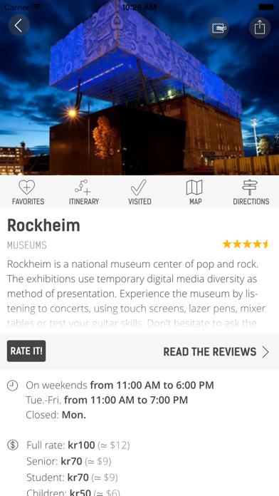 Official Trondheim Guide screenshot two