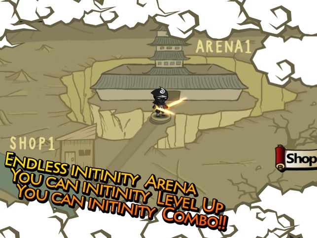 Ninjas Infinity Screenshot
