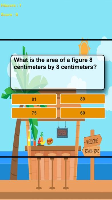 Fast Sandwich With Math Trivia screenshot 2