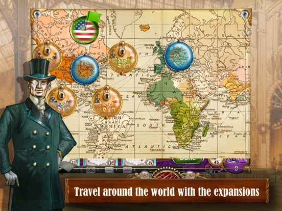 Ticket to Ride для iPad