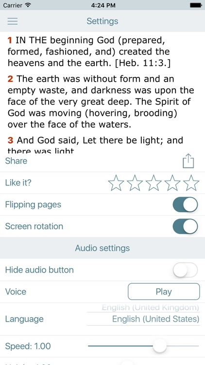 Amplified Bible with Audio screenshot-4