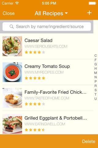 MealBoard screenshot 2