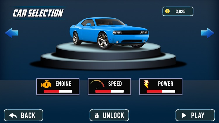Modern Muscle Car Driving