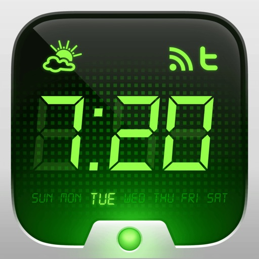目覚まし時計HD - デジタル目覚まし時計
