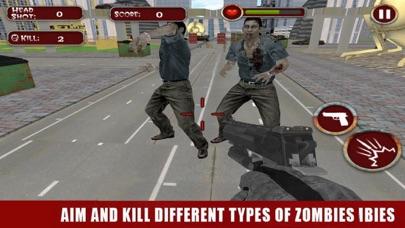 Zombie Dead Shooter Frontier screenshot three