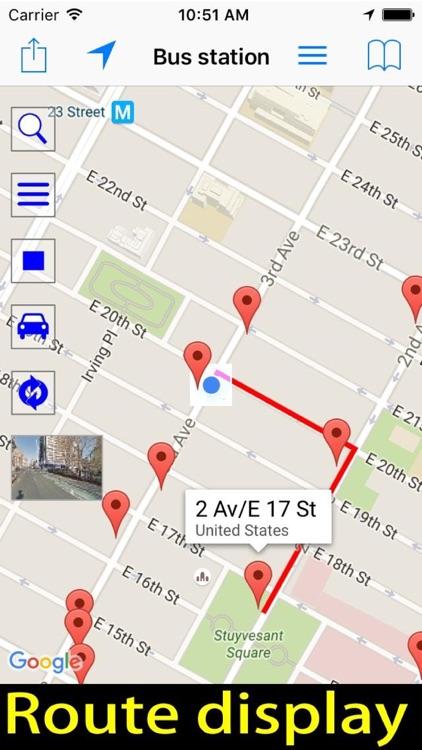 Find Bus Station - Bus Stop screenshot-3