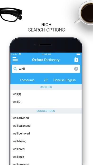 Oxford English Dictionary 2018 Screenshots
