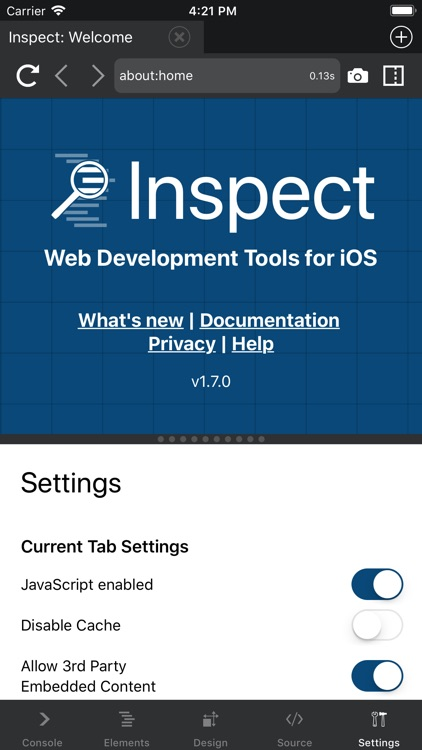 Inspect Browser screenshot-9