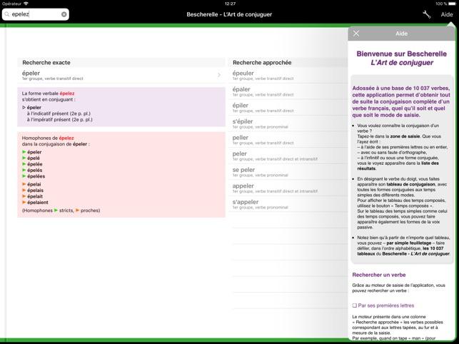 Bescherelle L Art De Conjuguer On The App Store