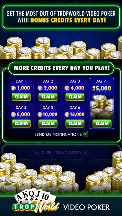 TropWorld Video Poker screenshot-9