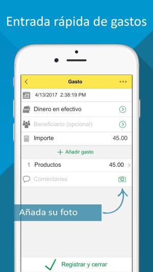 presupuesto ingresos y gastos en app store