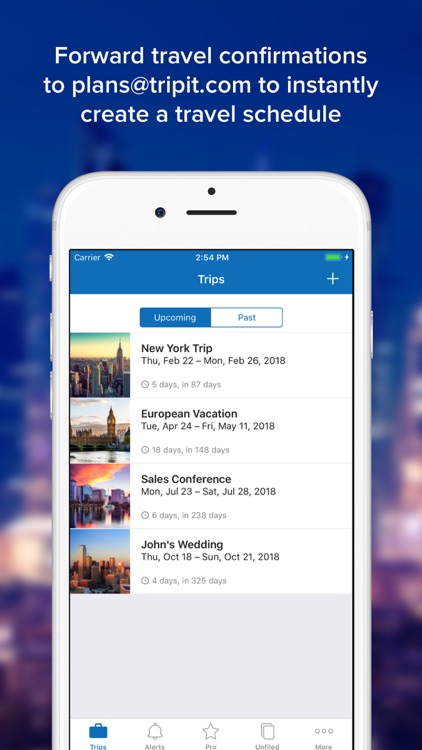 TripIt: Travel Organizer screenshot-0