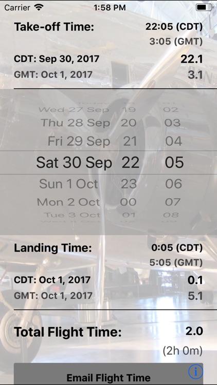 Flight Time Converter screenshot-3