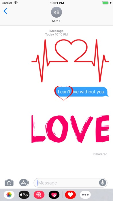 Love Stickers ملصقات الحب screenshot 3