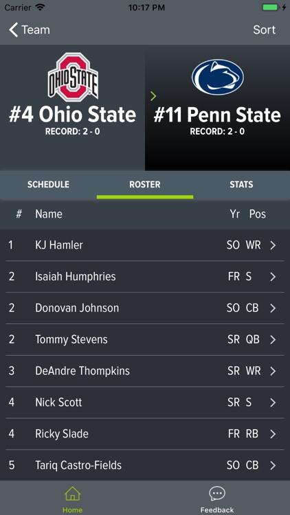 Ohio State Football 2018 screenshot-3