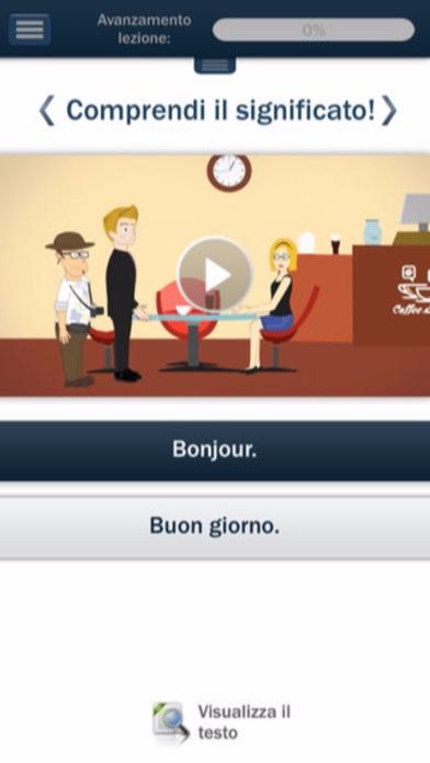 Screenshot of Corso di Francese :Hello-Hello1