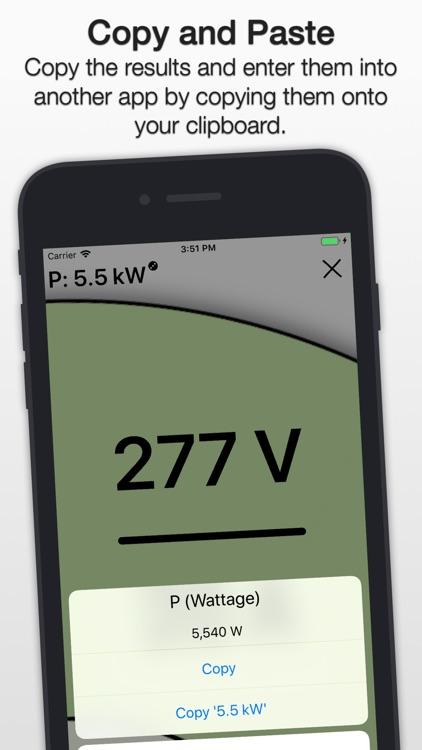 PIER: Ohm's Law Calculator screenshot-3