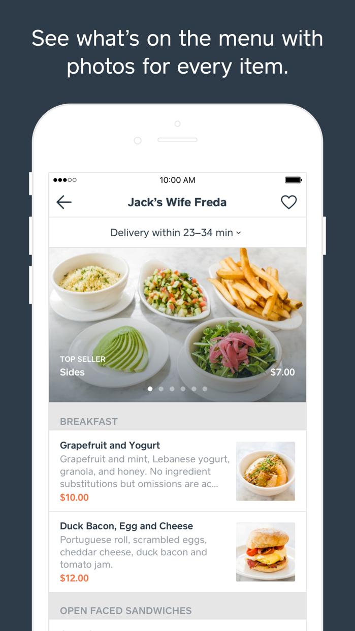 Caviar - Food Delivery Screenshot