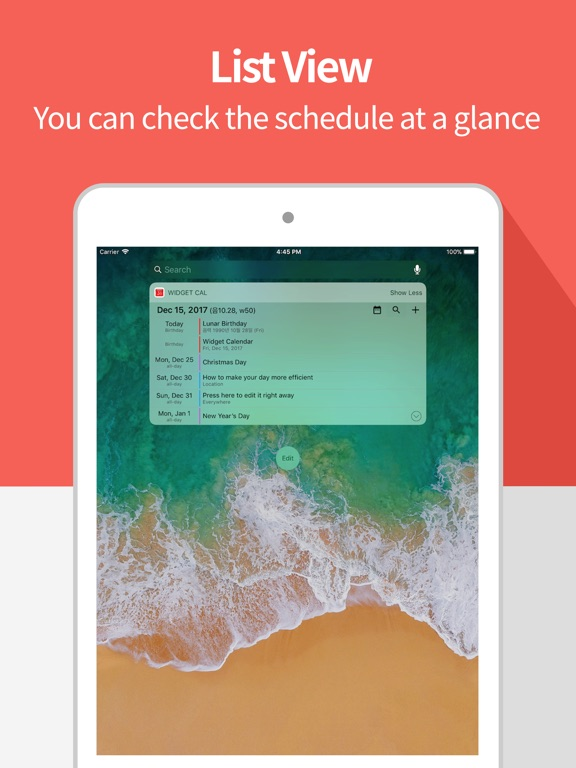 Widget Calendar : Easy&Simple Screenshots