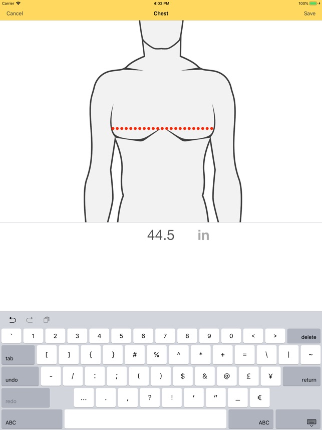 Dress Measurement on the App Store