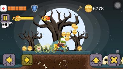 Zombie Graveyard: Kill Frenzy screenshot two