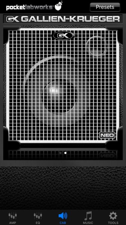 PocketGK - Bass Guitar Amp screenshot-3