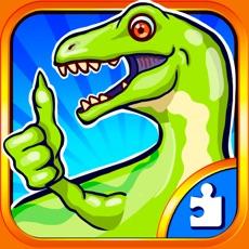 Activities of Dinosaur Puzzle Dino