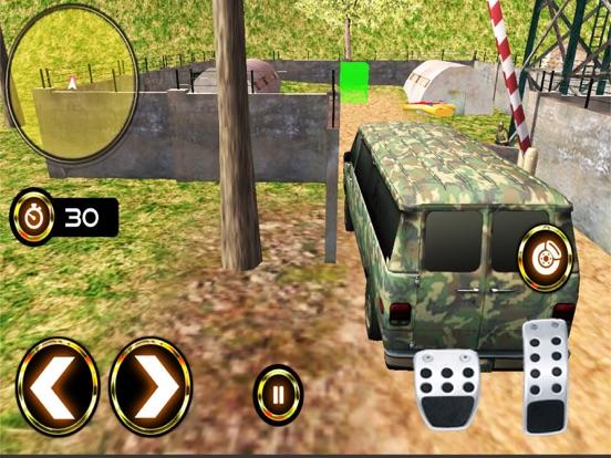 Army Criminal Transport Van 3D Скриншоты10
