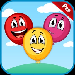 Popping Balloons Kids Games